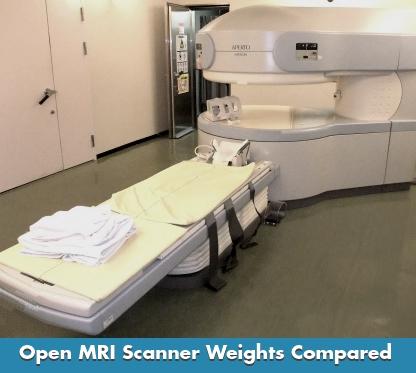 How Much Does an Open MRI Scanner Weigh?