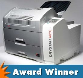 agfa drystar axys wins award