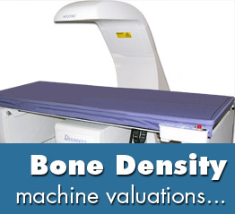 bone densitometer valuations