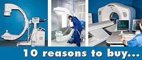 reasons to buy refurbished imaging equipment