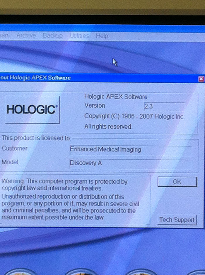 Hologic Discovery Software Level