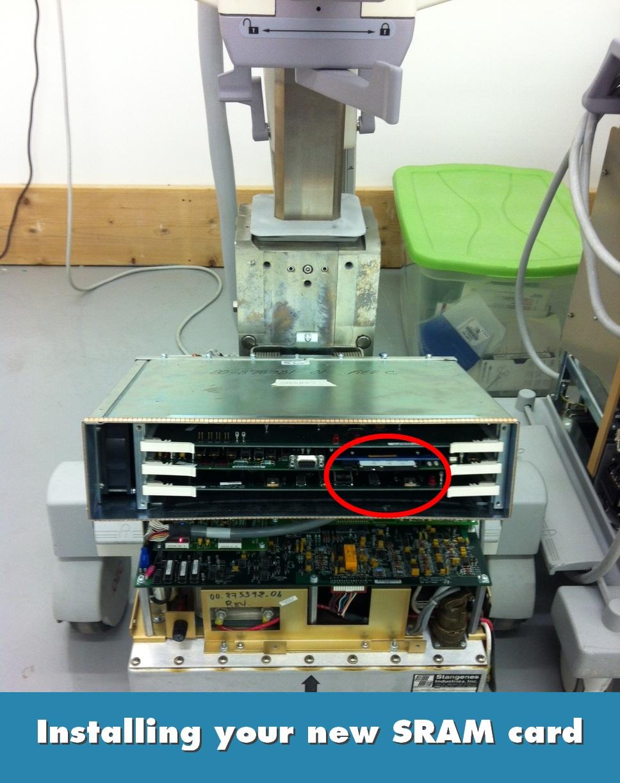 OEC 9600 SRAM Install