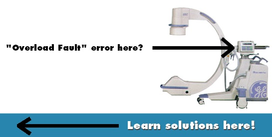 OEC 9800 Overload Fault Error