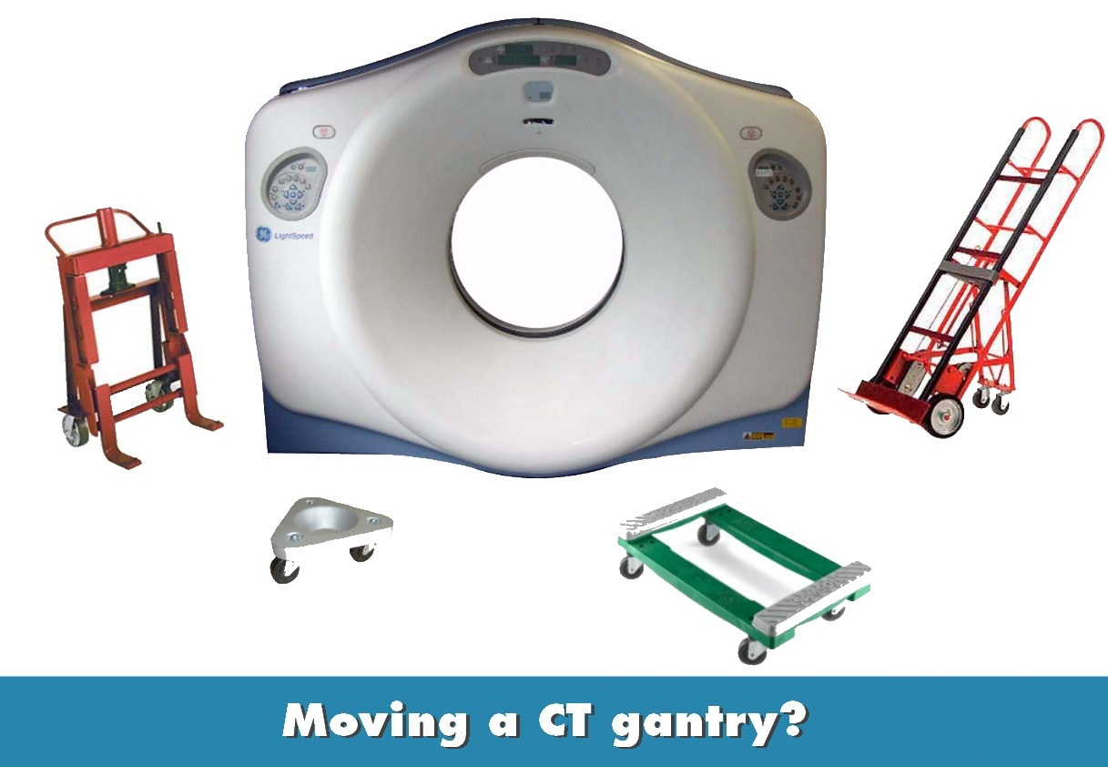 CT Gantry Dollies