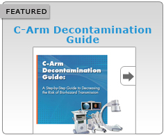 c arm decontamination guide