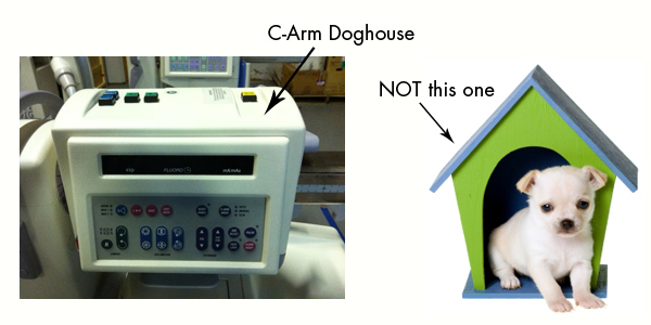 c arm doghouse