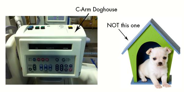 c arm doghouse