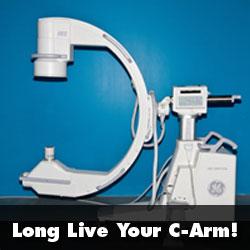 c-arm machine maintenace tips