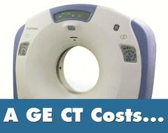 GE CT Cost