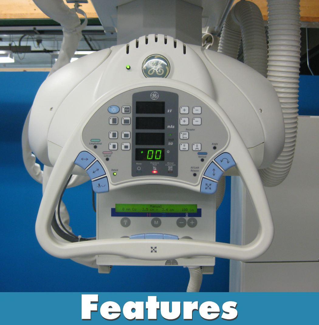 GE XRD Digital Rad Room