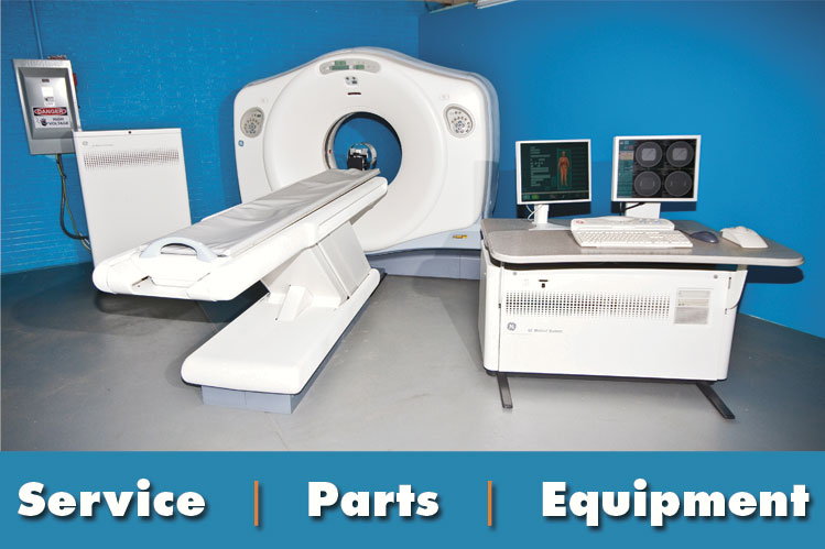 medical equipment service and parts