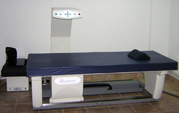 Hologic Discovery Bone Densitometer from Block Imaging