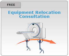 imaging equipment relocation assistance