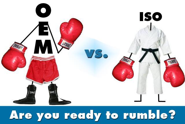 imaging equipment service oem vs iso