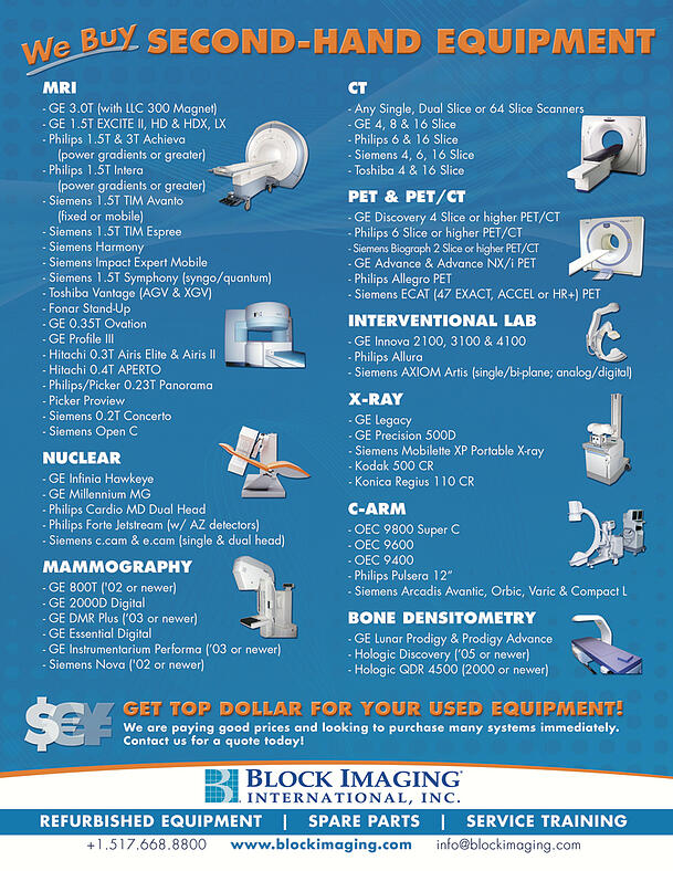 Sell Second-Hand Medical Equipment