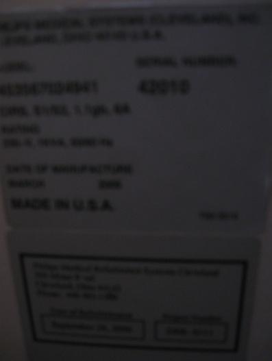 medical equipment id tag photo BAD