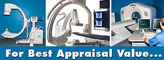medical imaging equipment appraisal advice
