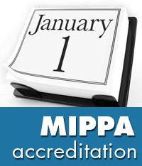 mippa accreditation grace period