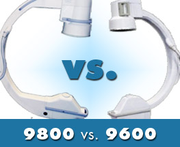 OEC 9800 vs OEC 9600 C arm