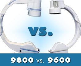 OEC 9800 vs OEC 9600 C arm