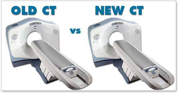 Old vs New CT Scanners