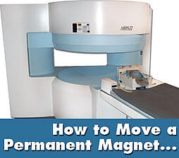 open mri machine move