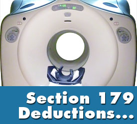 section 179 deductions for medical equipment