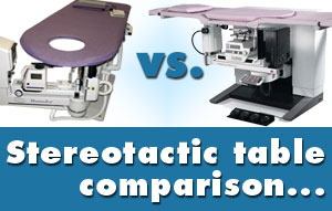 stereotactic biopsy tables