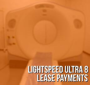 GE LightSpeed Ultra 8 Lease Payments