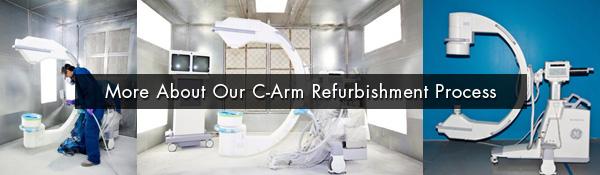 c arm refurbishment process
