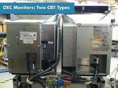OEC 9800 CRT Monitors