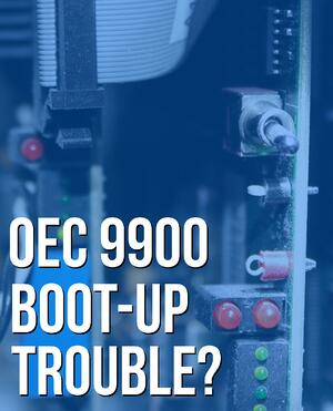 OEC 9900 boot-up problems?