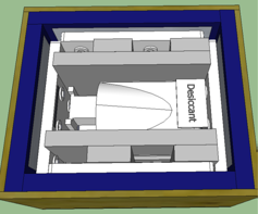 Drawing of Mammo Crate