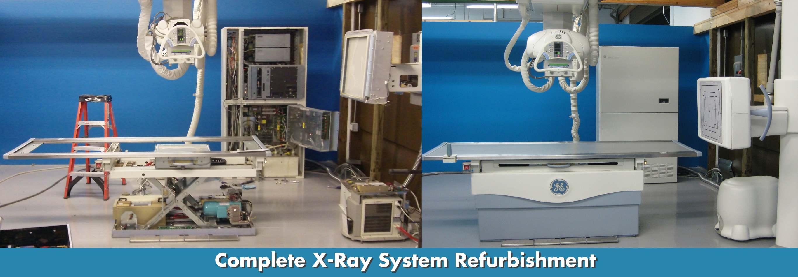 X Ray Refurbishment Banner