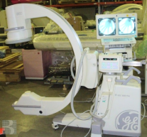 """2004 OEC 9800 Super C 9"""" Vascular 15fps MD C-Arm"""