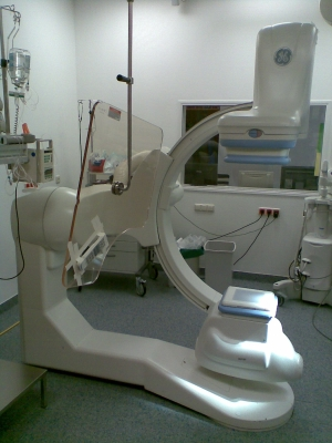 Cath Lab C-Arm and Positioner