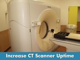 CT Scanner Maintenance Uptime