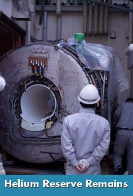 Helium Reserve Stays Open