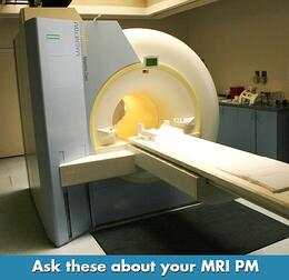 MRI Maintenance PM