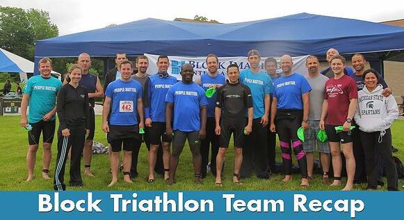 Block Triathlon Team Recap