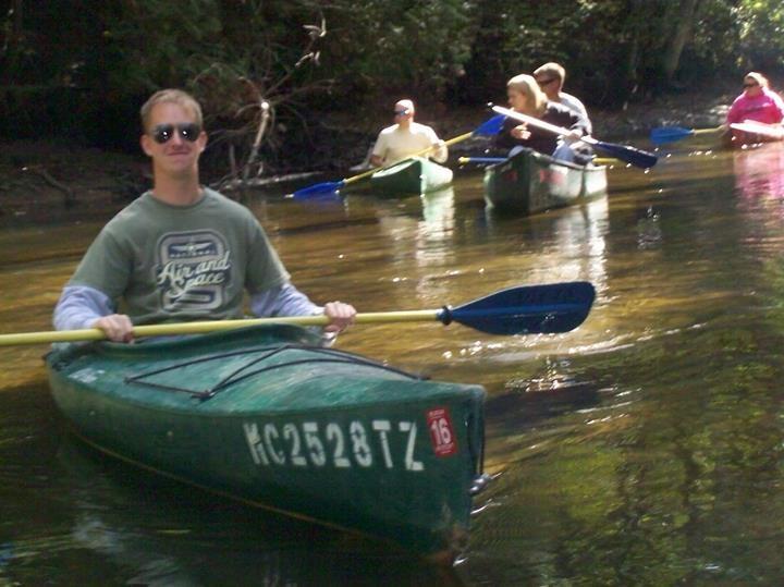 Matt Barnum Kayak