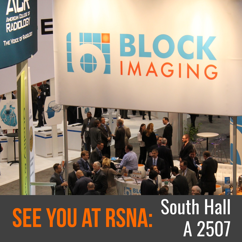 Block Imaging Booth RSNA 2015