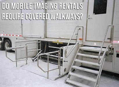 Covered Walkway for Mobile MRI Header