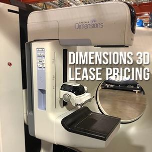 Hologic Dimensions 3D Lease