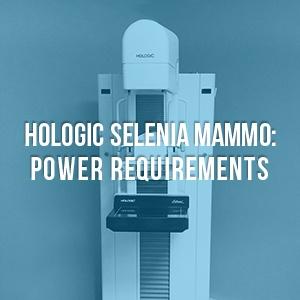 Hologic Selenia Power Requirements