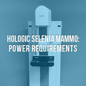 Hologic Selenia Power Requirements