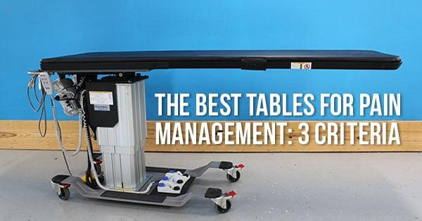 Pain-Management-C-Arm-Table-Best