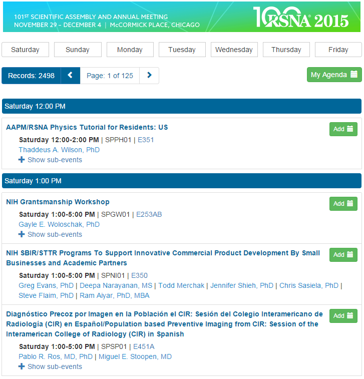 preparing for the rsna annual meeting in chicago