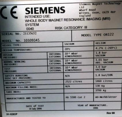 Sell MRI Serial Tag Example