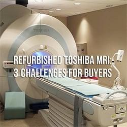 Toshiba MRI 3 Challenges